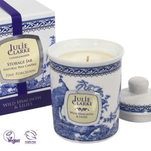 Wild Hyacinth & Lillies Candle