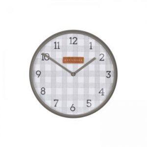 Gingham Clock