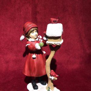 Christmas Victorian Girl