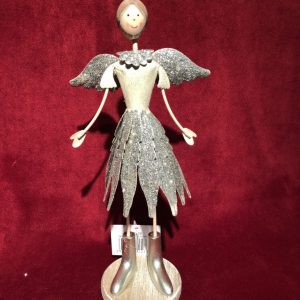 Silver Standing Angel