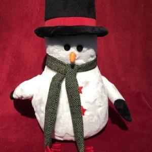 Snow Man Door Stop