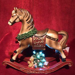 Musical LED Rocking Horse
