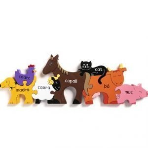Irish Farm Animal Jigsaw Puzzle