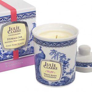 White Rose & Gardenia Candle