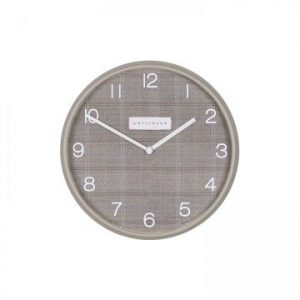 Simply Plaid Clock