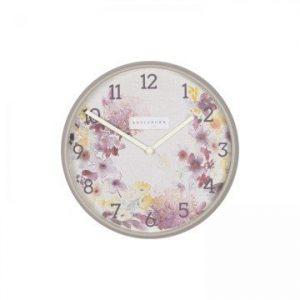 Wild Flowers Clock