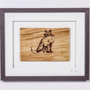 Native Collection Framed Fox