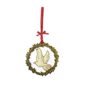 Sparkle Dove Christmas Decoration
