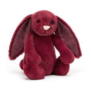 Jellycat - Bashful Sparkly Cassis Bunny