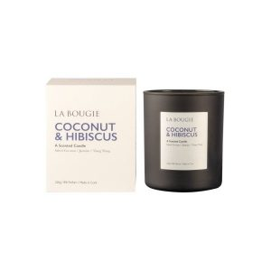 La Bougie Coconut & Hibiscus Candle