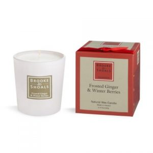 Frosted Ginger & Winter Berries Candle