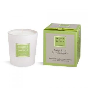 Brooke & Shoals Grapefruit & Lemongrass Candle