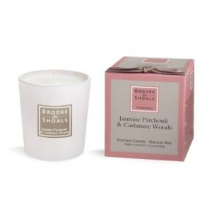Brooke & Shoals Jasmine, Patchouli & Cashmere Woods Candle