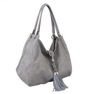 Shoulder Bag (Silver)