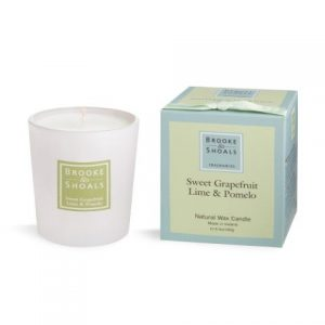 Brooke & Shoals Sweet Grapefruit, Lime & Pomelo Candle