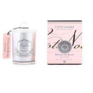 Cote Noire Rose Petal Candle
