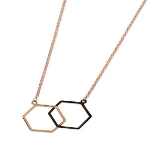 Skandi Interlocking Honeycomb Pendant