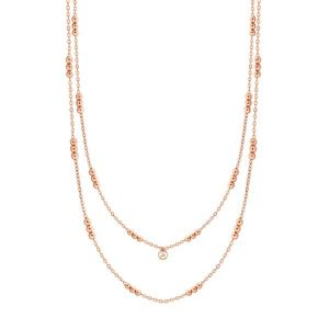 Skandi Triple Bead Long Necklace