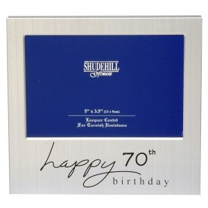 70th Birthday Frame