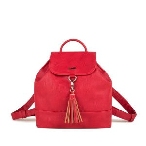Conny Mini Backpack (Canvas Red)