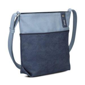 Jana Shoulder Bag (Nubuk Blue)