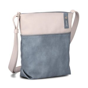 Jana Shoulder Bag (Nubuk Sea)