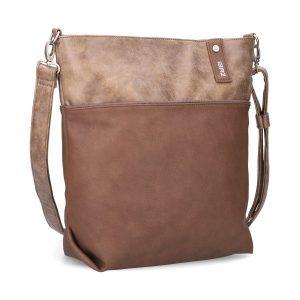 Jana Shoulder Bag (Wood)