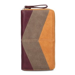 Jana Ladies Wallet (Canvas Curry)