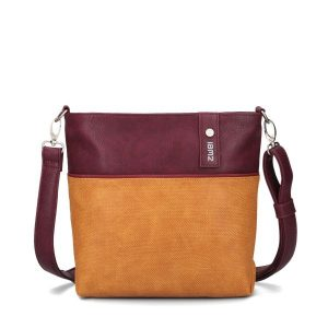 Jana Shoulder Bag (Canvas Curry)