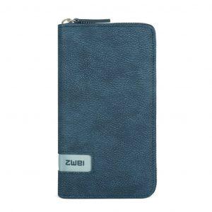 Mademoiselle Ladies Wallet (Nubuk Blue)
