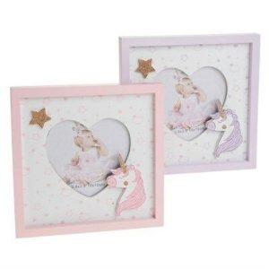 Unicorn Heart Frame (Lilac)