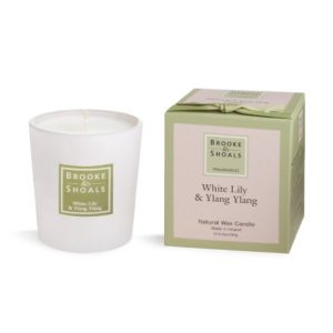 Brooke & Shoals White Lily & Ylang Ylang Candle