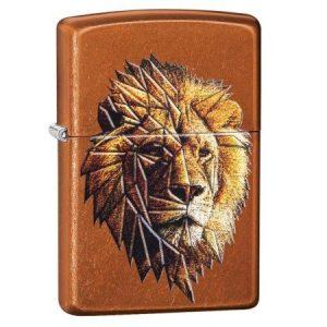 Zippo Polygonal Lion Lighter