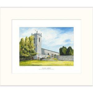 John Galvin Art - Clane Abbey