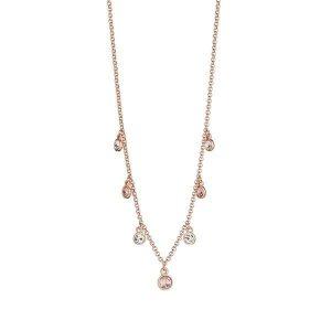 Andrea Vintage Rose Necklace