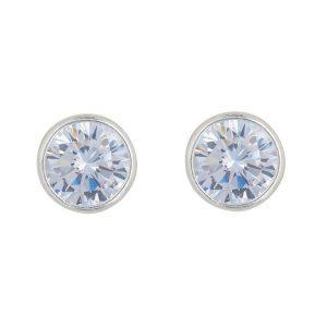 CZ Stud Earrings