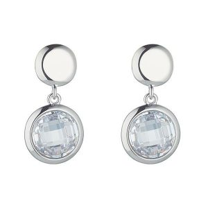 Abigail Silver Drop Earrings
