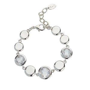 Abigail Silver Bracelet