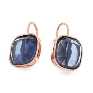 Maureen O'Hara Cushion Stone Earrings