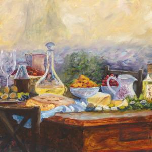 John Galvin Art - Al Fresco