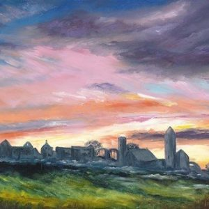 John Galvin Art - Clonmacnoise