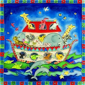 Ceramic Wall Art - Noah's Ark