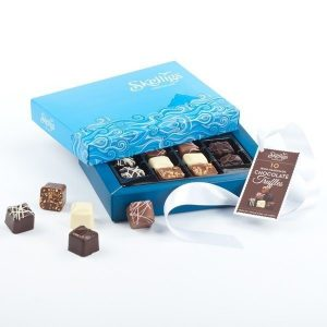 Skelligs 10 Chocolate Gift Box