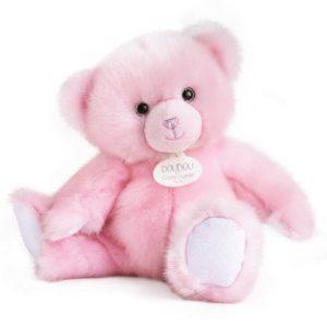 Doudou Rose Sorbet Bear