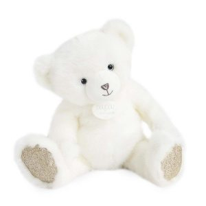 Doudou Blanc Poudré Bear