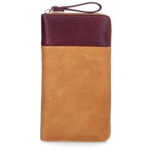 Eva Ladies Wallet (Canvas Curry)
