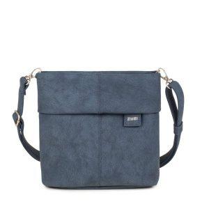 Mademoiselle Shoulder Bag - Nubuk Blue