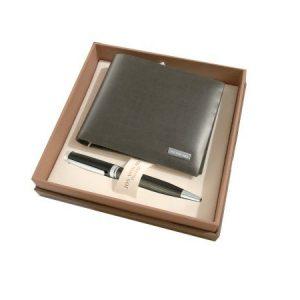 Arx Mens Wallet & Pen Gift Set