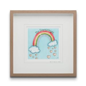 The Future Is Yours  Framed Art Print