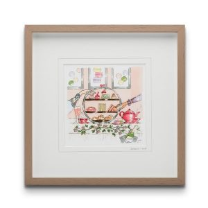 Sereni-Tea Framed Art Print